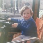 Justin Driving the bus